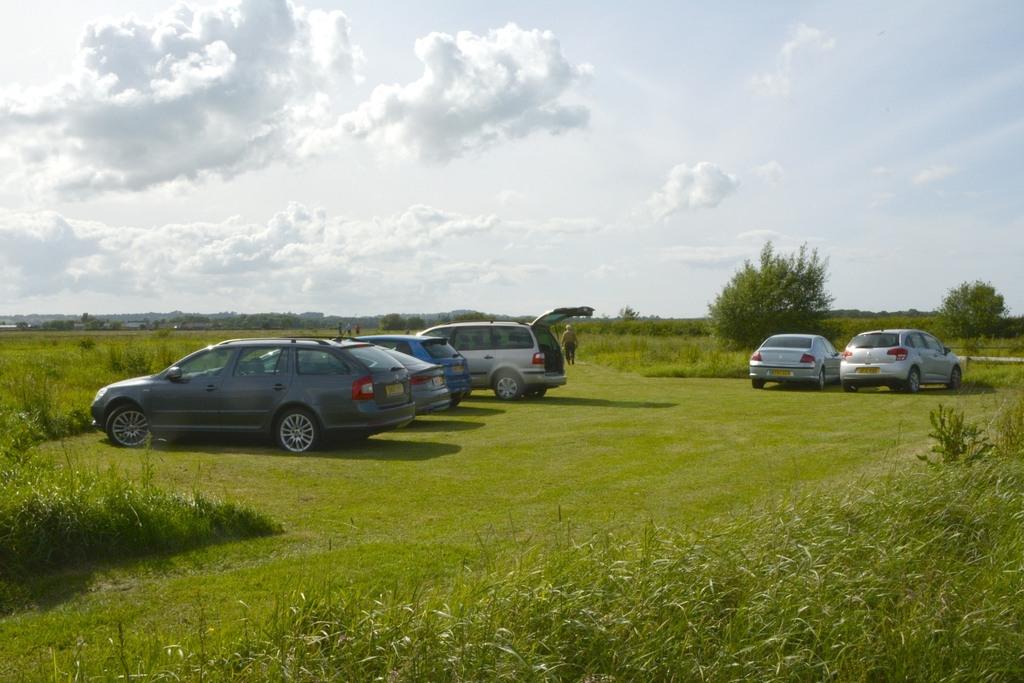 The car park. Plenty of room!